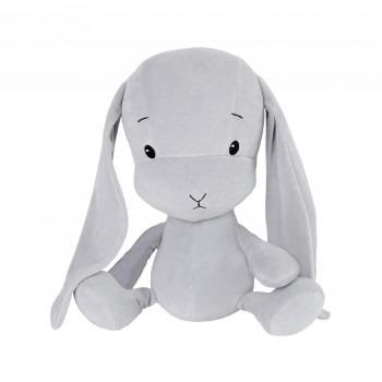 Effik Królik M personalizowany - Szary z szarymi uszami