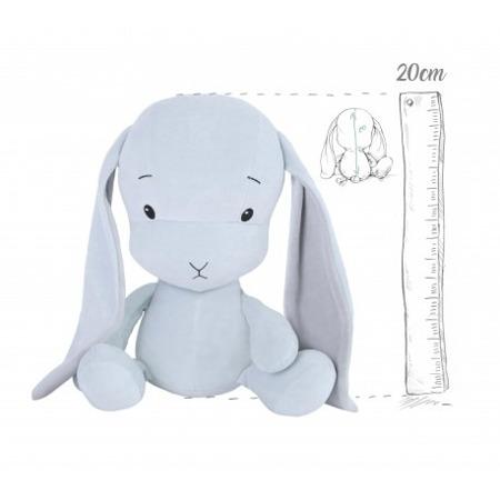 Effik Królik S personalizowany - Niebieski z szarymi uszami