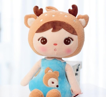 Lalka Metoo Deer Girl Jelonek