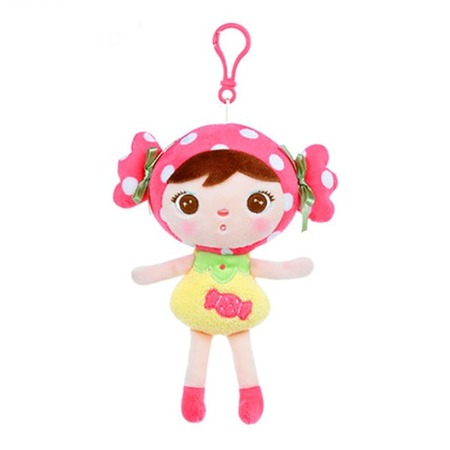 Lalka Metoo Mini Zawieszka Pink Candy Girl Cukiereczek