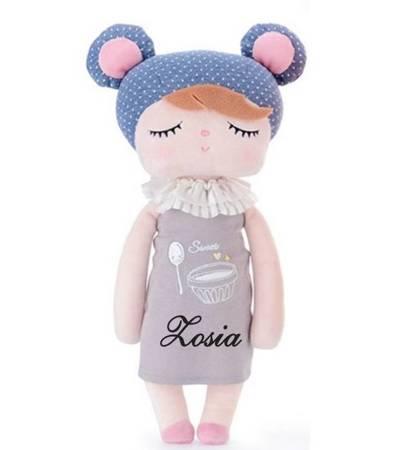 Lalka personalizowana z uszami Misia