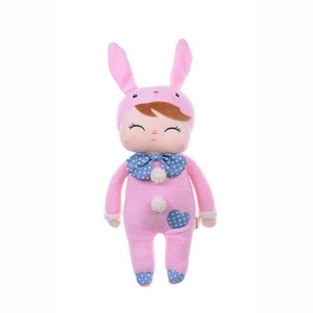Lalka z uszami Metoo Angela Pink Bunny