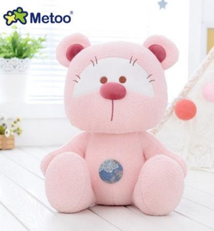 Miś Metoo różowy