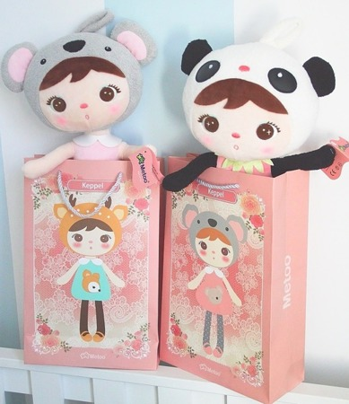 Gift Bag for Keppel Dolls and Backpacks