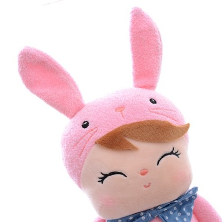 Metoo Angela Pink Bunny Doll