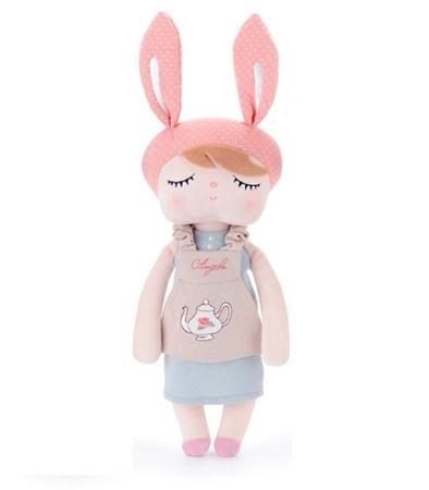 Metoo Personalized Angela Bunny Retro Doll