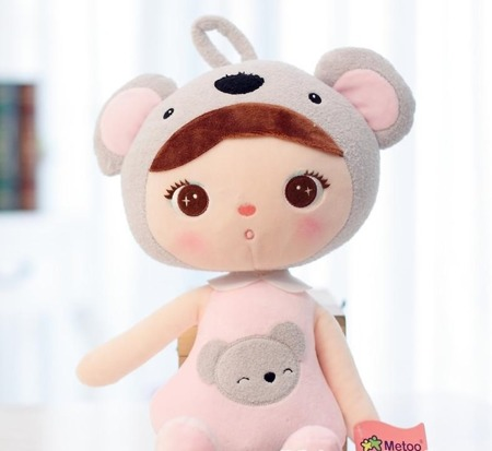 Metoo Personalized Koala Girl XL Doll
