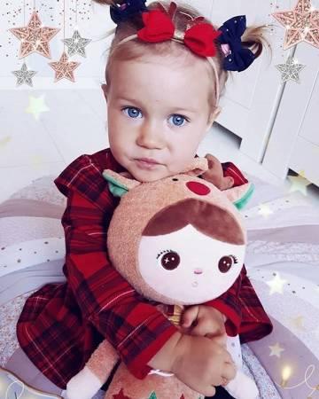 Metoo Personalized Reindeer Doll