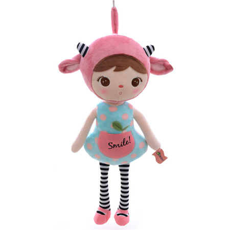 Metoo Pink Sheep Girl Doll