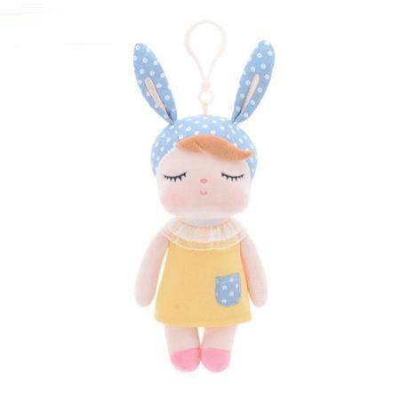 Mini Metoo Angela Bunny Doll in Yellow Dress