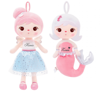 Personalized Set of Dolls - Angeland Mermaid
