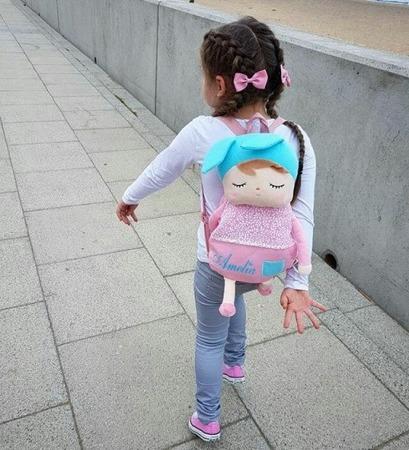 Plecak z Uszami Metoo Różowy